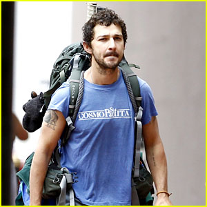 Shia LaBeouf Spotted On His Hitchhiking Trip in New Orleans
