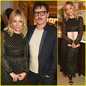 Sienna Miller Celebrates Launch Of Wendy Rowe's First Book 'Eat Beautiful'!