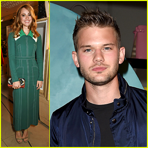Suki Waterhouse Joins Jeremy Irvine at Burberry Flagship Event