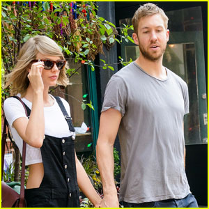 Calvin Harris Was 'Intimidated' By Taylor Swift's Success