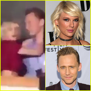 Taylor Swift & Tom Hiddleston Cuddle & Dance Together at Selena Gomez's Concert - Watch Now!