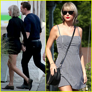 Taylor Swift & Tom Hiddleston Go on Double Date in Nashville