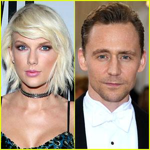 Taylor Swift & Tom Hiddleston Hop on Private Jet Together