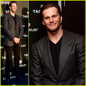 Tom Brady Represents Tag Heuer at Montreal Grand Prix!