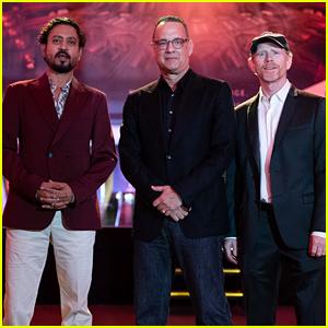 Tom Hanks Hits Singapore to Promote 'Inferno'