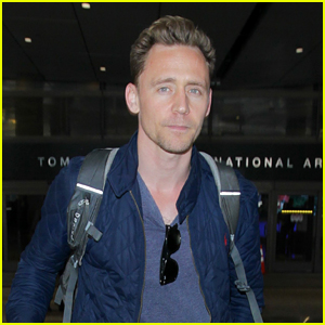 Tom Hiddleston Hops on Flight Amid James Bond Rumors