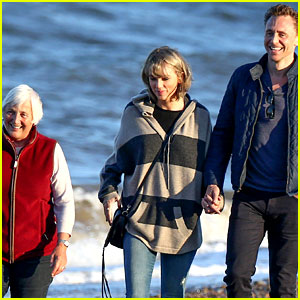 Tom Hiddleston's Mom Gushes Over Meeting Taylor Swift