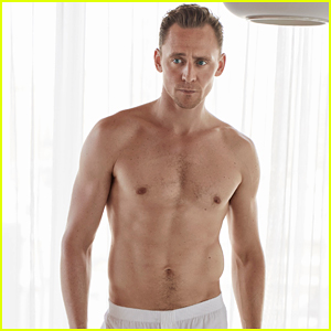 Tom Hiddleston Strips Down To His Underwear In 'W' Magazine!