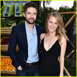 Topher Grace & Wife Ashley ...