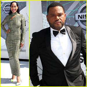 Tracee Ellis Ross & Anthony Anderson Get Ready to Host BET Awards 2016!