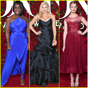 Uzo Aduba, Megan Hilty & More Stars Step Out for Tony Awards 2016!