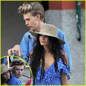 Austin Butler Shows Off Short Haircut on Italian Vacation With Vanessa Hudgens