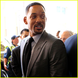 Will Smith Attends Muhammad Ali's Memorial Service