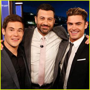 Zac Efron Talks About Riding a Shark on 'Jimmy Kimmel Live'