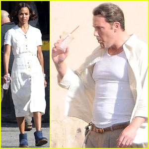 Zoe Saldana Joins Ben Affleck for 'Live By Night' Re-Shoots