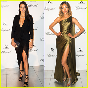 Adriana Lima & Jourdan Dunn Are Fierce Models At Ralph & Russo Fashion Show!