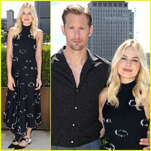 Alexander Skarsgard & Margot Robbie Bring 'Tarzan' to London!