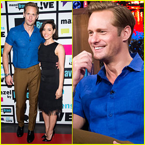 Alexander Skarsgard Shoots Down Wedding Bells Rumors