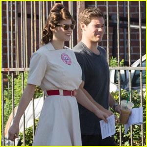 Adam DeVine & Alexandra Daddario Kick Off 'When We First Met' Filming, Robbie Amell Joins Cast