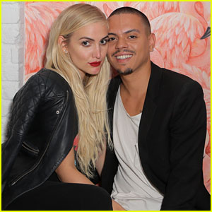 Ashlee Simpson & Evan Ross Couple Up at MeWe Party