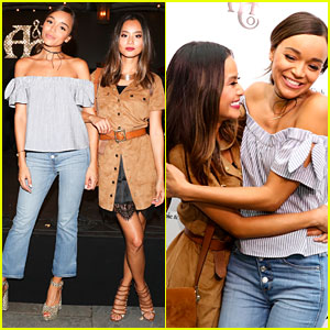 Ashley Madekwe & Jamie Chung Give Off BFF Goals at A&F Summer Party!
