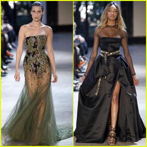 Bella Hadid & Jourdan Dunn Stun at Paris Fashion Week
