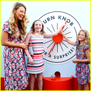 Blake Lively Brings Ryan Reynolds' Nieces to Target Event!