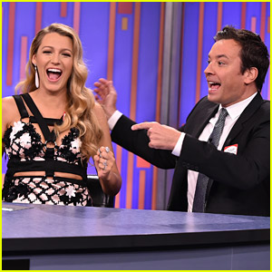 Blake Lively Plays a Game of Password with Jimmy Fallon!