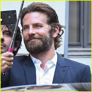 Bradley Cooper Gets Warm Rome Welcome!