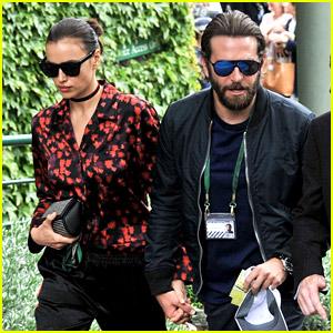 Bradley Cooper & Irina Shayk Check Out Wimbledon Again