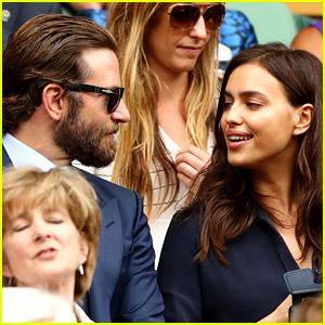 Bradley Cooper & Irina Shayk Did Not Fight at Wimbledon (Video)