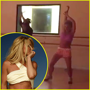 Britney Spears Dances to 'Make Me' in New Rehearsal Video!