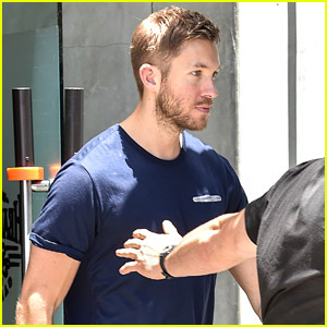 Calvin Harris Keeps Up His Workouts After His Twitter Rant