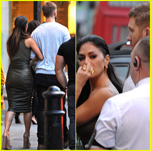 Calvin Harris & Nicole Scherzinger Link Up in London