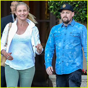 Cameron Diaz & Benji Madden Look So Happy on Double Date