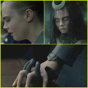 Cara Delevingne Transforms Into Enchantress in New 'Suicide Squad' Clip - Watch Now!