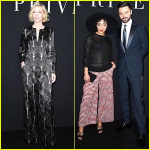 Cate Blanchett & Ruth Negga Attend Giorgio Armani Fashion Show in Paris!