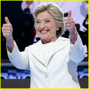 Celebs Praise Hillary Clinton for Her DNC Speech - Read Tweets