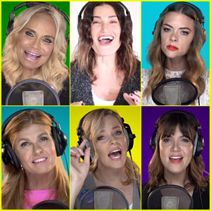 Celebs Sing 'Fight Song' to Support Hillary Clinton - Watch Now!