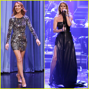 Celine Dion Impersonates Cher, Rihanna, & Sia for Fallon's Wheel of Musical Impressions!