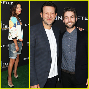 Chace Crawford Celebrates 'Undrafted' Premiere with Tony Romo & Jessica Szohr!