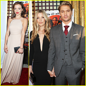 Chad Michael Murray Gets Support From 'Awesome' Wife Sarah Roemer At 'Outlaws & Angels' Premiere!