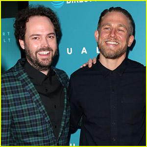 Charlie Hunnam Supports Drake Doremus at 'Equals' Premiere