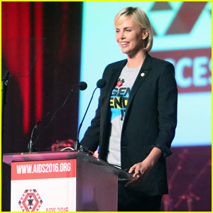 Charlize Theron Speaks Out at the International AIDS Conference