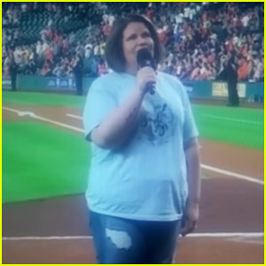 'Chewbacca Mom' Candace Payne's National Anthem Will Blow You Away! (Video)