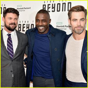 Chris Pine, Idris Elba & Karl Urban Bring 'Star Trek Beyond' to NYC