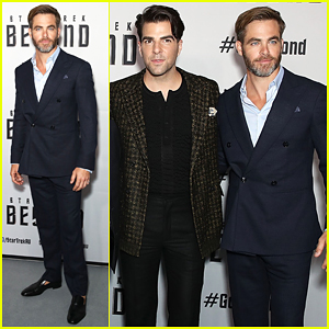 Chris Pine & Zachary Quinto Have Bittersweet 'Star Trek Beyond' Australian Premiere!