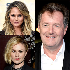 Chrissy Teigen & Anna Paquin Slam Piers Morgan for Criticizing Jennifer Aniston's Op-Ed Article