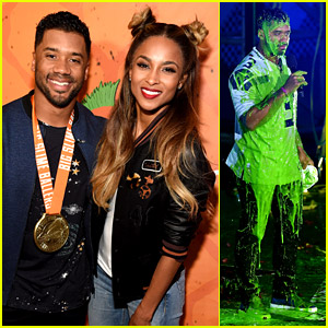 Ciara Supports Hubby Russell Wilson for His Kids' Choice Sports Awards Hosting Gig!