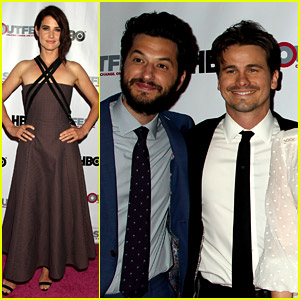 Cobie Smulders Premieres Her Movie 'The Intervention' at Outfest